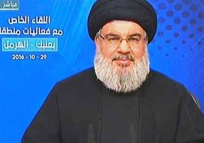 سخنرانی نصرالله از شبکه المنار