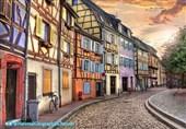 شهر تاریخی Colmar در فرانسه که از آن به عنوان یکی از زیباترین شهرهای اروپا یاد میشود .