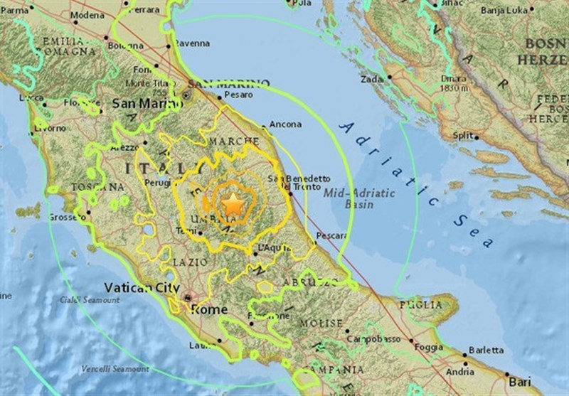 Powerful Earthquake Rattles Central, Southern Italy