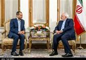 دیدار قائم مقام وزیر امور خارجه عمان و محمد جواد ظریف