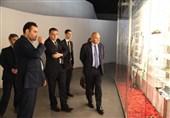 بازدید قائم مقام وزیر امور خارجه سوییس از باغ موزه