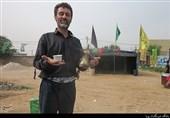 پذیرایی موکبداران خوزستانی با «قهوه و دمنوش زعفران» از زائران اربعین در شلمچه و چذابه