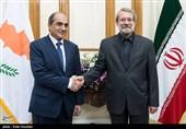 Iran-Cyprus Parliamentary Ties Very Extensive: Larijani