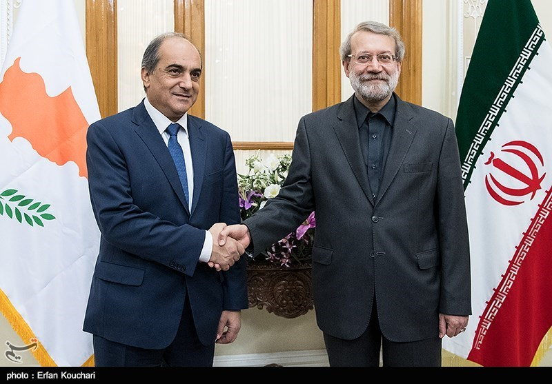 Iran-Cyprus Parliamentary Ties Very Extensive: Larijani