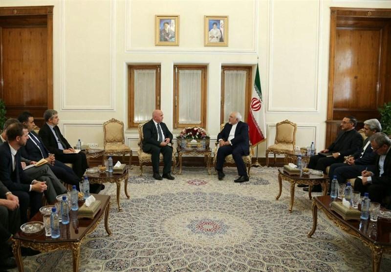 Iran's FM Zarif Meets Senior Danish MP