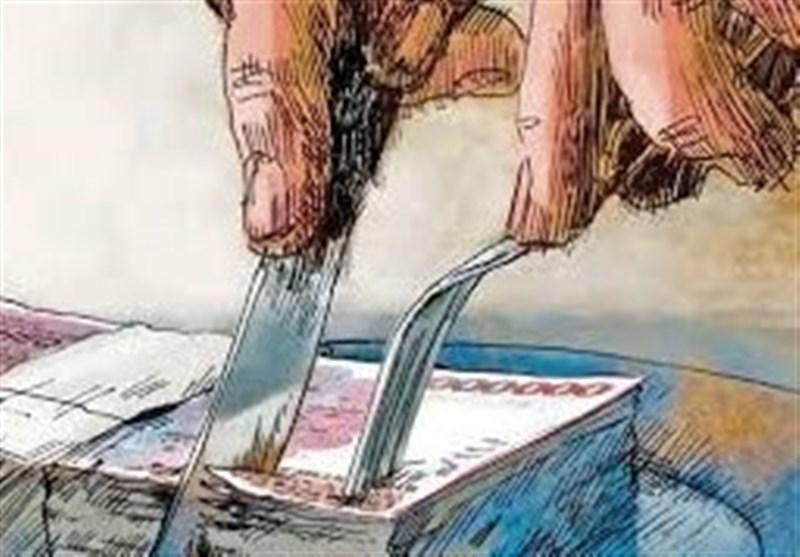 نتیجه تصویری برای کاریکاتور تزریق پول های کثیف