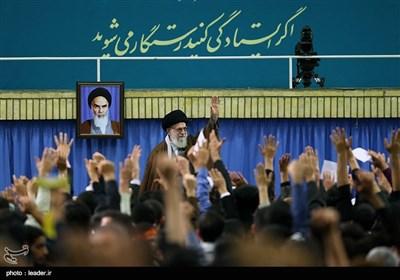 Leader Ayatollah Khamenei Meets Iranian Students