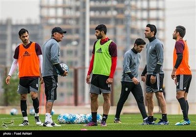 Iran Preparing for Syria Match in World Cup Qualifier