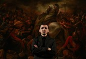 جدیدترین نقاشی حسن روح الامین رونمایی میشود