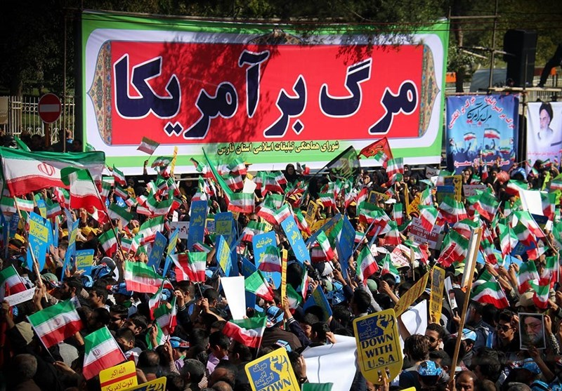 Iranian People Mark Day against Global Arrogance