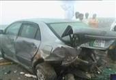 ٹریفک حادثہ دھند