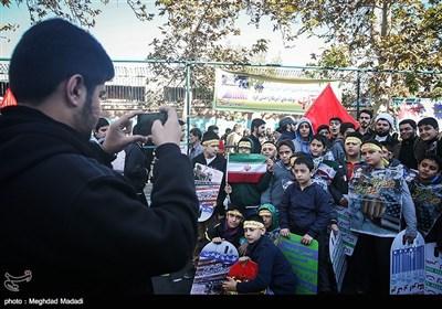 People in Tehran Mark US Embassy Takeover