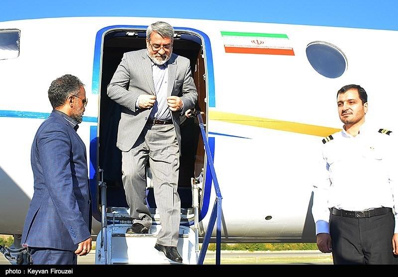 سفر وزیر کشور به سنندج