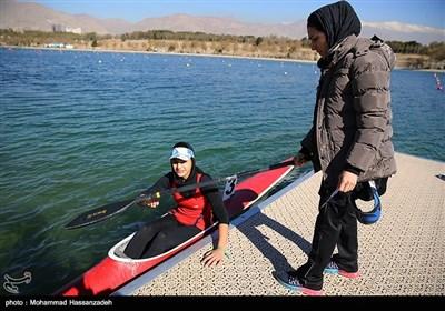 مسابقات قایقرانی قهرمانی کشور آبهای آرام بانوان