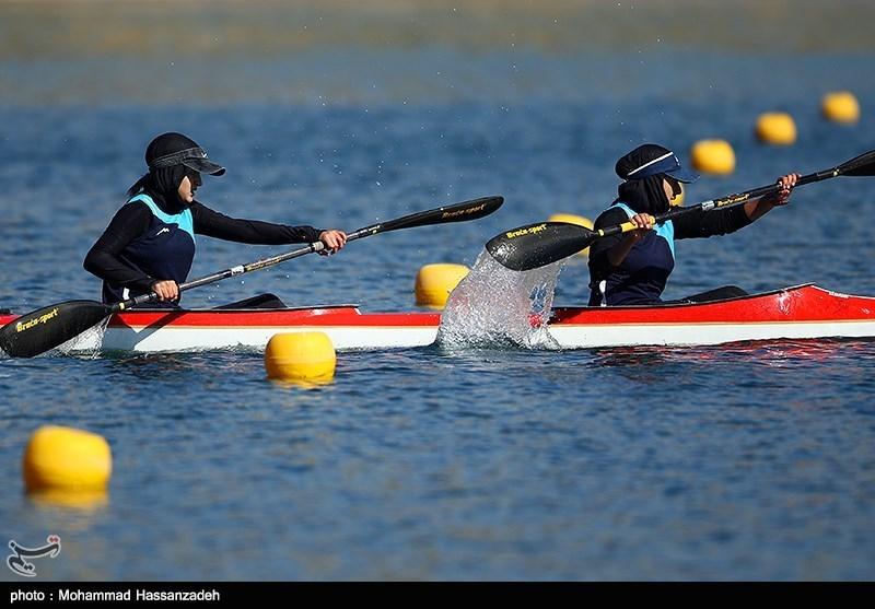 تیم ملی آبهای آرام بانوان به آب میزند