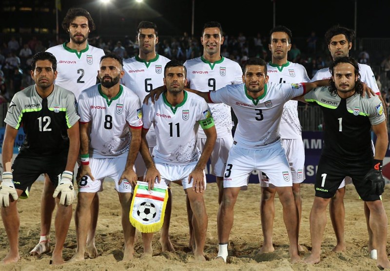 Iran to Face Tahiti at Beach Soccer Intercontinental Cup Semis