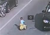 رانندگی کودک چینی