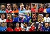 23 کاندیدای بهترین بازیکن جهان در سال 2016