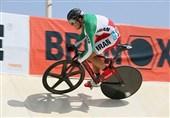 دوچرخهسواری پیست قهرمانی آسیا| دانشور از صعود به فینال باز ماند