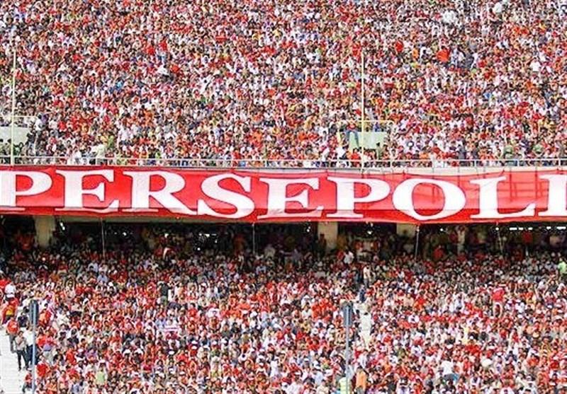شعارهای تند هواداران پرسپولیس علیه داور و اعتراض برانکو