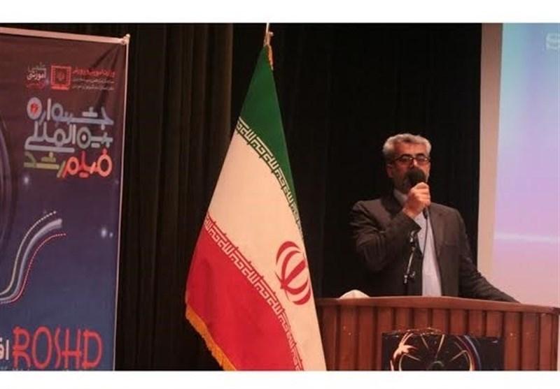 آئین افتتاحیه چهل و ششمین جشنواره فیلم رشد استان سمنان در دامغان برگزار شد