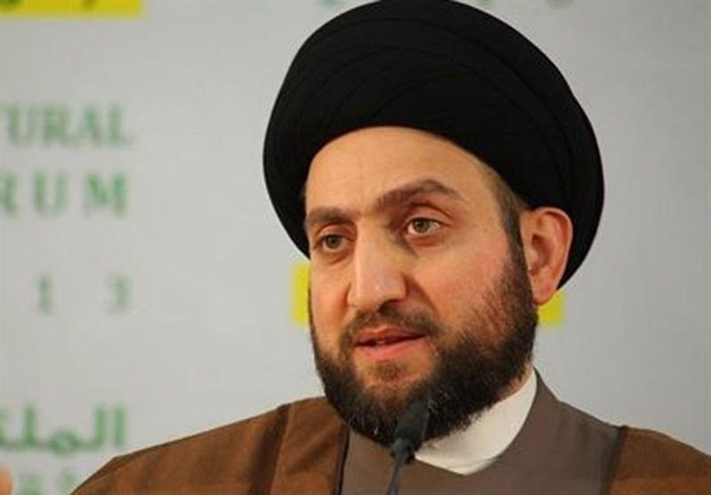 السید عمار الحکیم یدین جرائم داعش الإرهابیة فی إیران