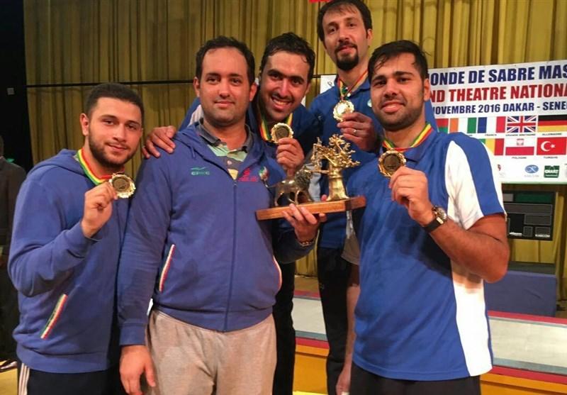 Iran Makes History at FIE Saber World Cup