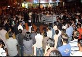 کراچی: احتجاجی دھرنا دینے والوں کے خلاف پولیس کی کارروائی