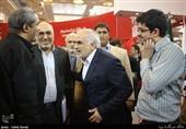 استاندار مازندران ار غرفه تسنیم در نمایشگاه مطبوعات بازدید کرد