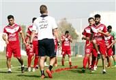 اعلام برنامه تمرینی سرخپوشان و شیرجههای بیرانوند با دست گچگرفته + عکس