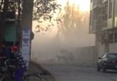 انفجار وزارت تحصیلات عالی کابل