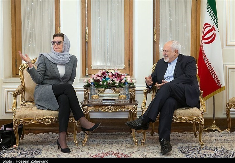 Swedish, Syrian Diplomats Meet FM Zarif in Tehran