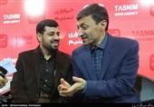واکنش جالب رئیس کمیته امداد به یک سئوال انتخاباتی در غرفه تسنیم