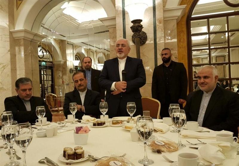 ظریف: دور حزب الله وقائده المقاوم مدعاة فخر واعتزاز بالنسبة لنا