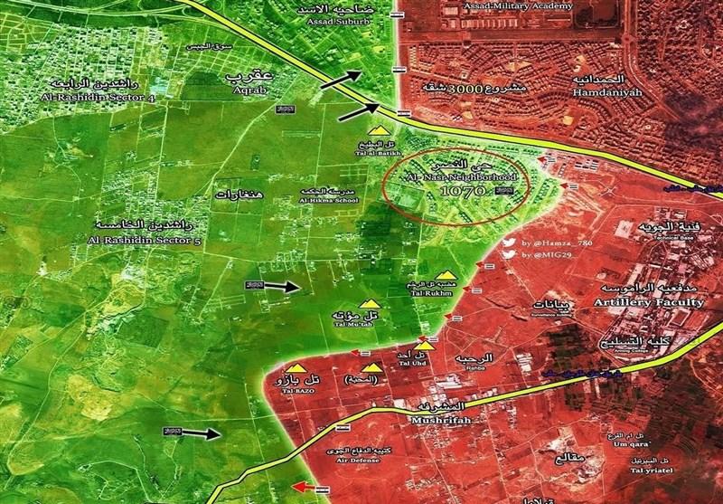 Halep 1070 Kompleksinin Temizlenmesindeki Zorlu Savaşın Ayrıntıları