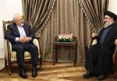 Hezbollah Chief Condemns US Sanction on Iran's Foreign Minister
