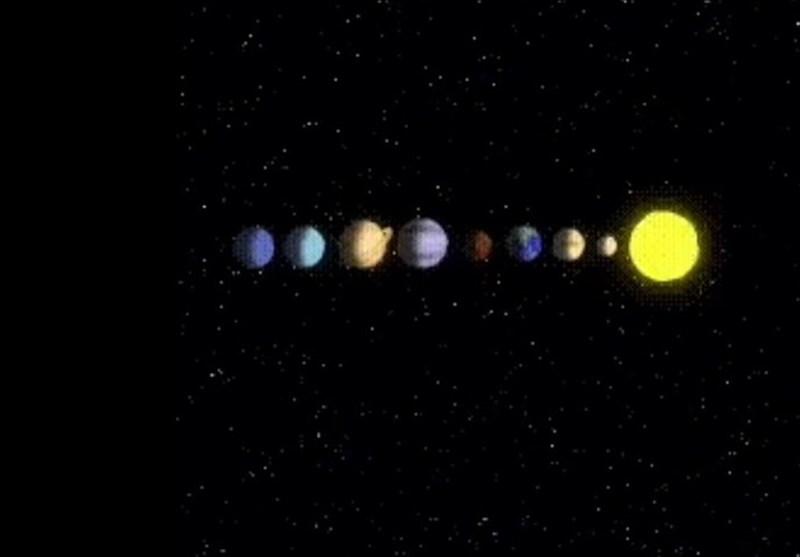 فیلم/نحوهی چرخش سیارهها به دور خورشید در منظومهی شمسی