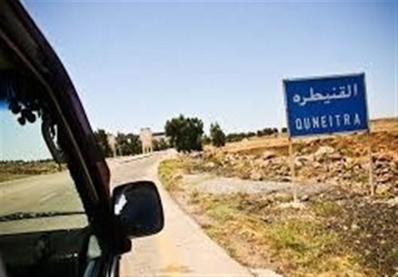 العدو الصهیونی یقصف موقعا للجیش السوری فی القنیطرة
