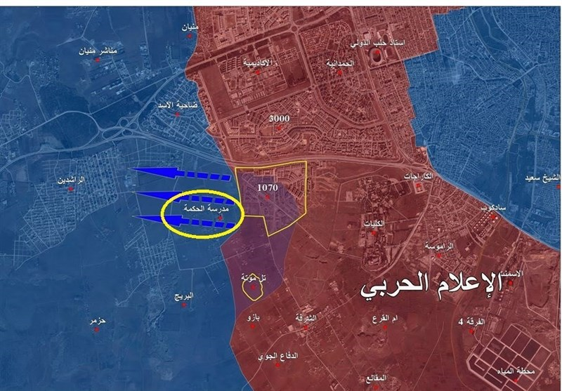 انهیار فی صفوف الارهابیین بعد تقدم الجیش السوری جنوب غرب حلب