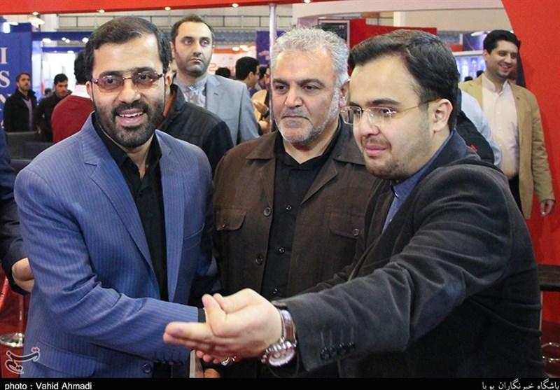 حضور نماینده بروجرد در غرفه خبرگزاری تسنیم