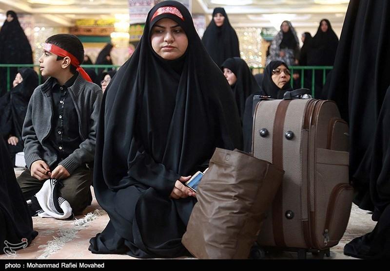 8000 نفر زائر اربعین در موکبهای اوقاف کرمانشاه اسکان یافتند