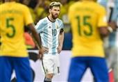 مسی برزیل آرژانتین