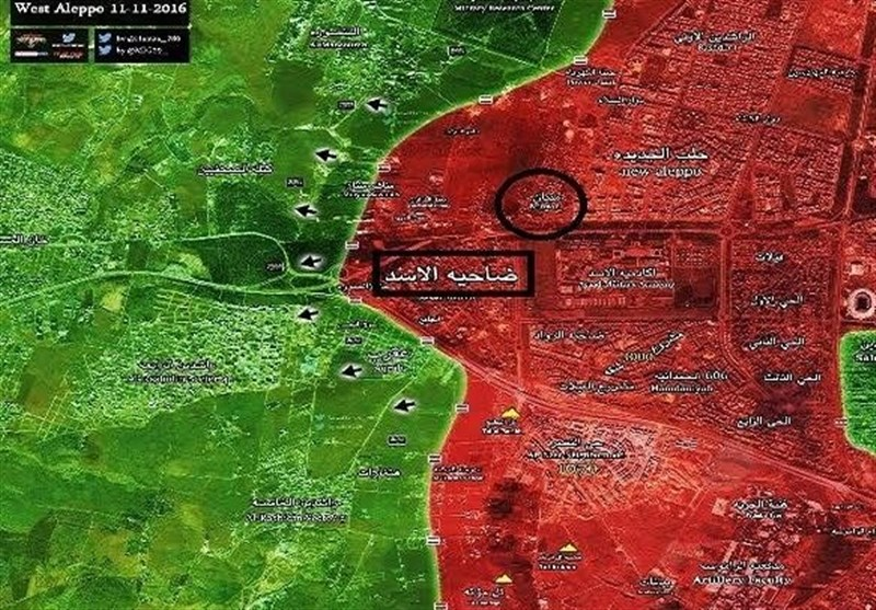 Syrian Army Recaptures Key Area in Western Aleppo