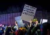 ٹرمپ کے خلاف احتجاج کا سلسلہ شدت اختیار کر گیا/ 60 سے زائد امریکی گرفتار/ تصویری رپورٹ