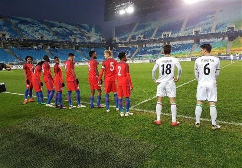 Iran Beaten by England at U-19 Football Tournament
