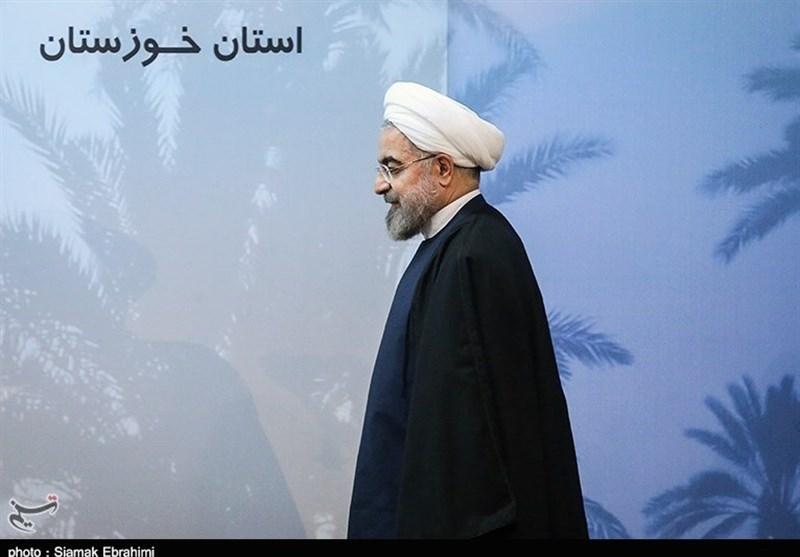 روحانی: دولت همه امکانات را برای مدیریت بحران خوزستان بسیج کرد