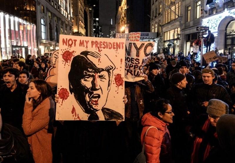 Weekend Brings More Anti-Trump Protests across US