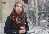 خبرنگار تسنیم در غزه