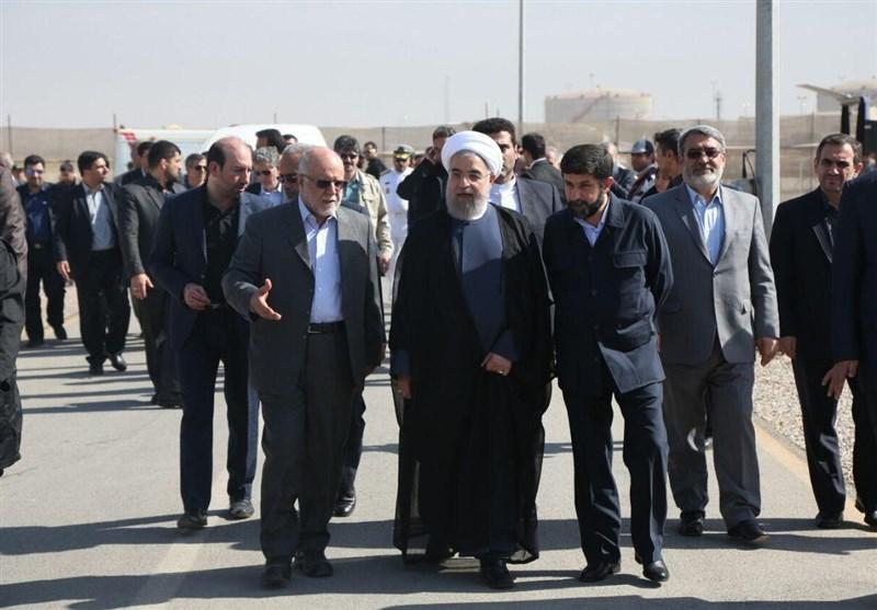 حجت الاسلام روحانی رئیس جمهور در اهواز