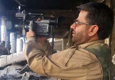 رجز خوانی شهید خزایی در جمع مدافعان حرم